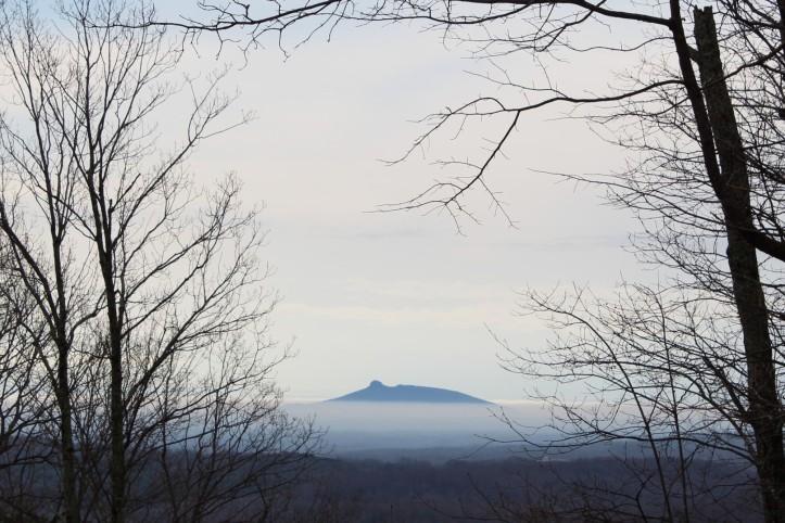 Cloudy Pilot Mt