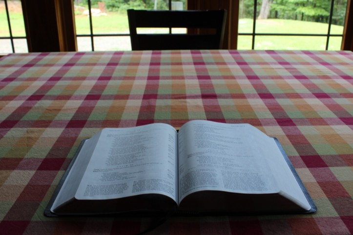 Bible Table