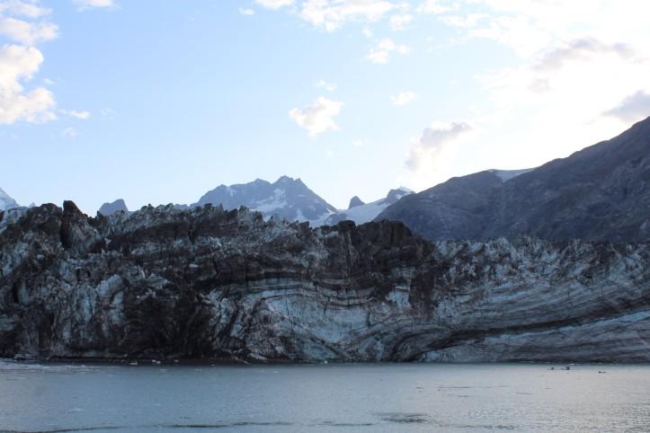Glacier Silt Layers