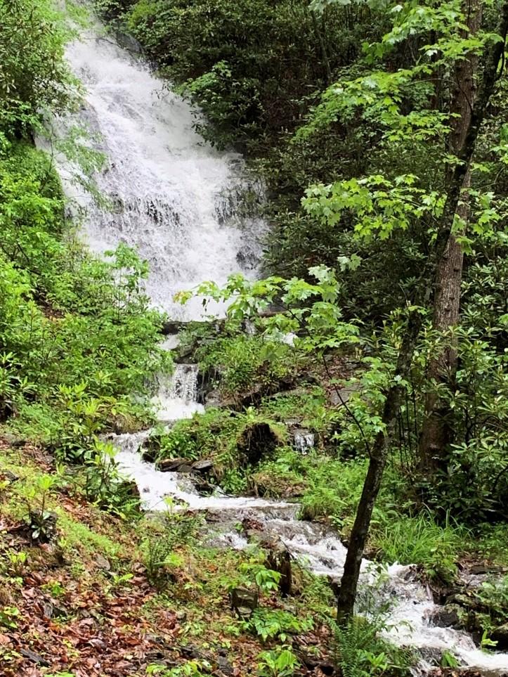 Waterfall Overflowing